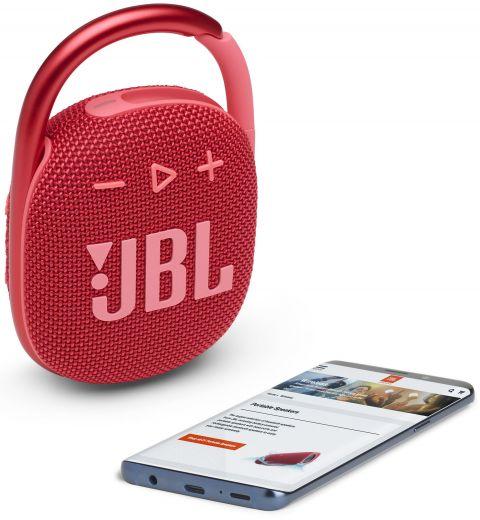 Акустика JBL Сlip 4 Red (JBLCLIP4RED)