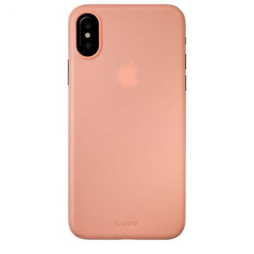 Чехол Laut Slimskin Pink (LAUT_iP8_SS_P) для Apple iPhone X