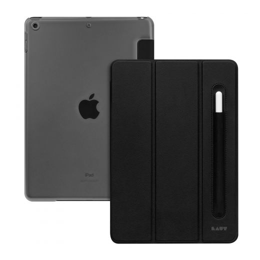 "Чехол Laut Huex Folio Pencil Black (L_IPD192_HP_BK) для iPad 10.2"" (2020 / 2019)"