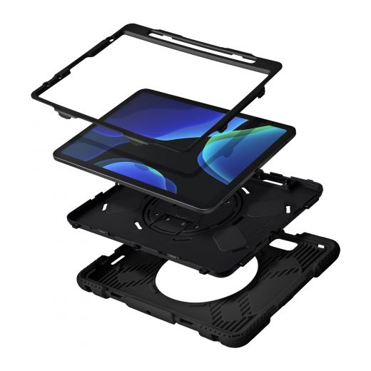 "Чехол-книжка Laut SHIELD ENDURO case with Pencil Holder Black (L_IPD20_SE_BK ) для iPad Pro 11"" (2021/2020/2018) / Air (2020)"