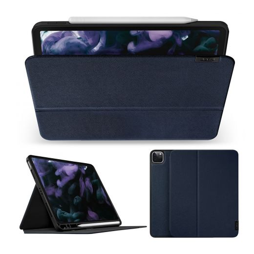 "Чехол-книжка Laut Prestige Folio Blue (L_IPP21L_PR_BL) для iPad Pro 12.9"" (2021/2020/2018) и Apple Pencil"