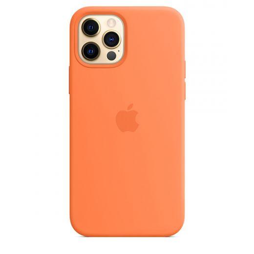 Чехол Apple Sillicone Case Kumquat (High copy) для iPhone 12   12 Pro