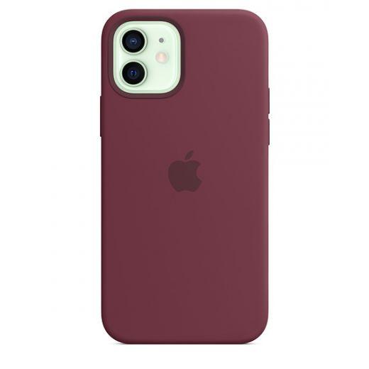 Чехол Apple Sillicone Case Plum (High copy) для iPhone 12   12 Pro