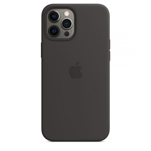 Чехол Apple Sillicone Case with MagSafe Black (MHLG3) для iPhone 12 Pro Max