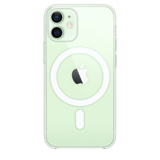 Чехол Apple Clear Case with MagSafe (MHLL3) для iPhone 12 mini