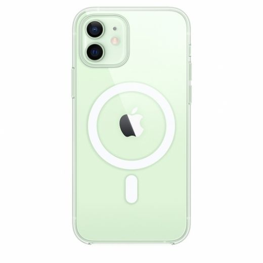 Чехол Apple Clear Case with MagSafe (High Copy) для iPhone 12   12 Pro
