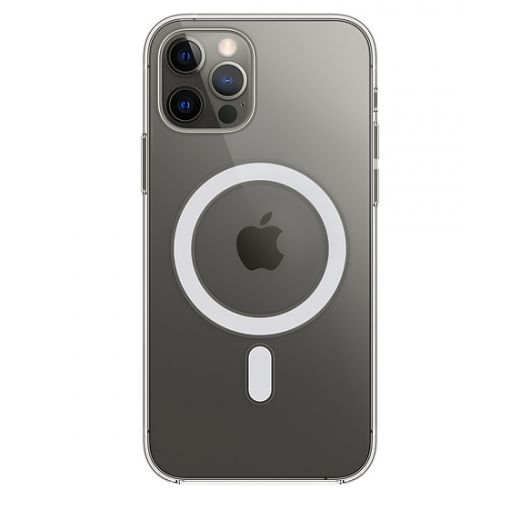 Чехол Apple Clear Case with MagSafe (MHLM3) для iPhone 12 | 12 Pro