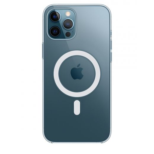 Чехол Apple Clear Case with MagSafe (MHLN3) для iPhone 12 Pro Max