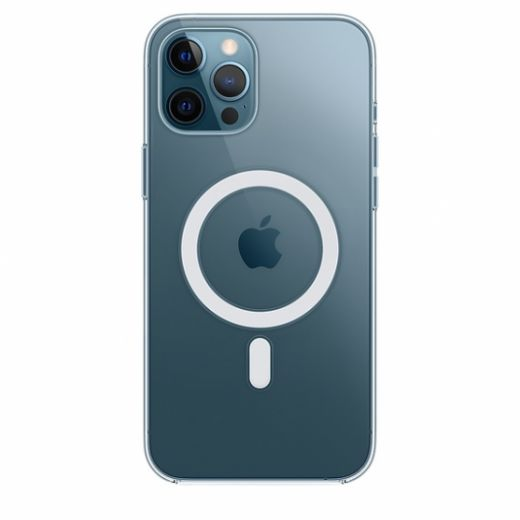Чехол Apple Clear Case with MagSafe (High Copy) для iPhone 12 Pro Max