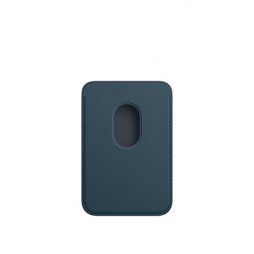Кожаный кошелек Apple MagSafe Baltic Blue (MHLQ3) для iPhone