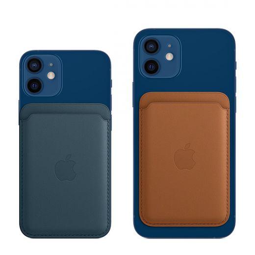 Кожаный кошелек Apple MagSafe California Poppy (MHLP3) для iPhone