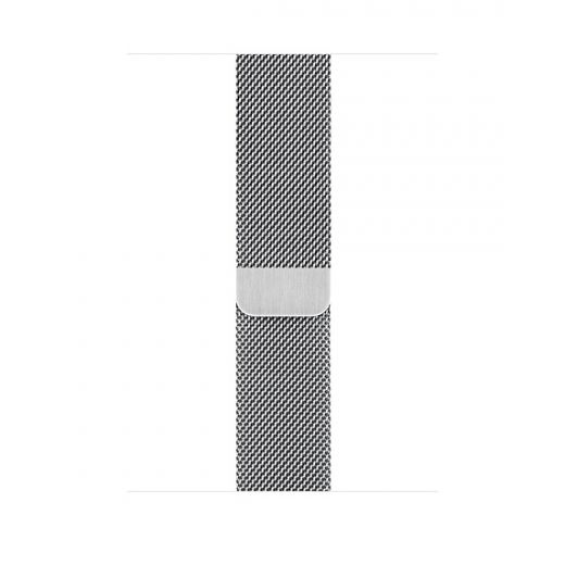 Ремешок Apple Milanese Loop Silver (MTU62) для Apple Watch 42/44 mm