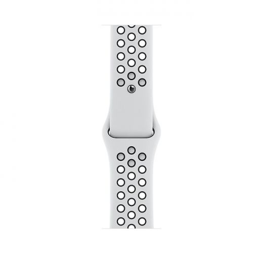 Apple Watch Nike Series 6 GPS 44mm Silver Aluminum Case with Pure Platinum/Black Nike Sport Band (MG293)