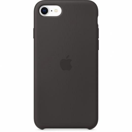 Чехол Apple Silicone Case Black (High copy) для iPhone SE/8