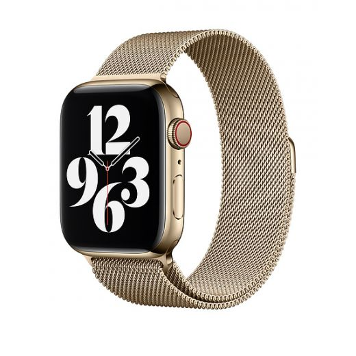 Ремешок Apple Milanese Loop Gold (MYAP2) для Apple Watch 42/44 mm