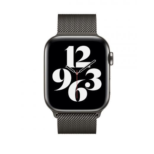 Ремешок Apple Milanese Loop Graphite (MYAQ2) для Apple Watch 42/44 mm