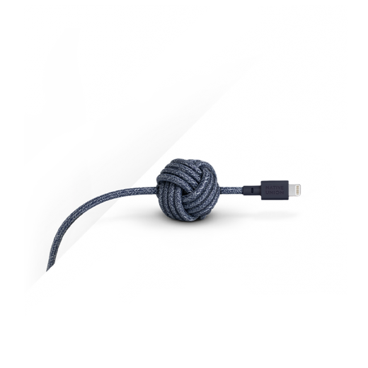 Кабель Native Union Night Cable Lightning Indigo (3 m) (NCABLE-L-IND-NP)