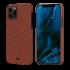 Чехол Pitaka MagEZ Red/Orange (Herringbone) для iPhone 12 Pro