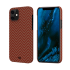 Чехол Pitaka MagEZ Red/Orange (Herringbone) для iPhone 12 mini
