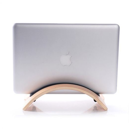 "Деревянная подставка SAMDI Vertical Birch для MacBook Air | Pro 11""-16"""