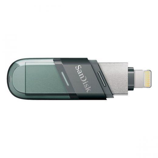 Флешка USB SanDisk iXpand Flip 64GB Lightning (SDIX90N-064G-GN6NN)