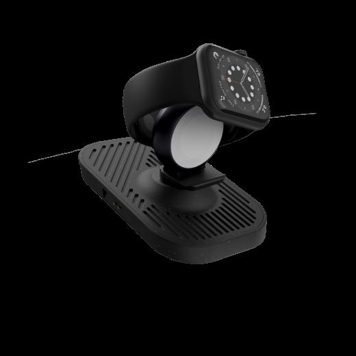 Беспроводная зарядка Zens Modular Apple Watch Charger Black (add on platform) (ZEMAW1A/00)