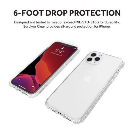 Чехол Griffin Survivor Clear Clear (GIP-022-CLR) для iPhone 11 Pro