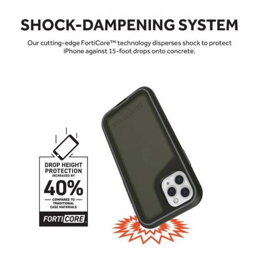Чехол Griffin Survivor Extreme Black/Gray/Smoke (GIP-029-BKG) для iPhone 11 Pro