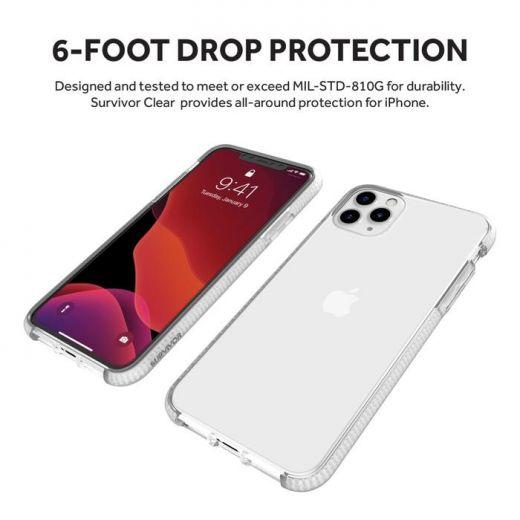 Чехол Griffin Survivor Clear Clear (GIP-026-CLR) для iPhone 11 Pro Max