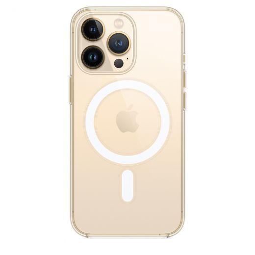 Оригинальный прозрачный чехол Apple Clear Case with MagSafe (MM2Y3) для iPhone 13 Pro