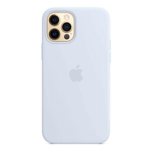 Чехол Apple Silicone Case Cloud Blue (High copy) для iPhone 12 Pro Max
