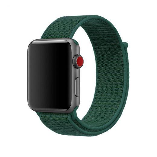 Ремешок CasePro Sport Loop Forest Green для Apple Watch 42/44mm