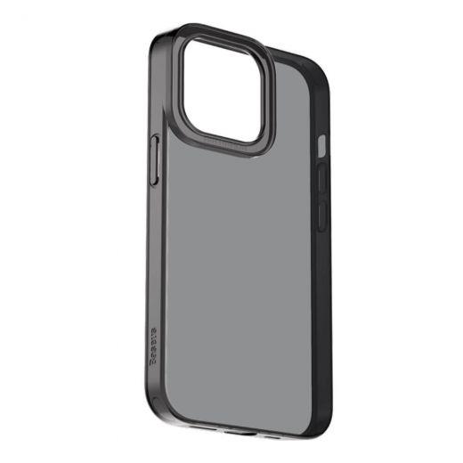 Прозрачный чехол Baseus Simple Case Black для iPhone 13 Pro
