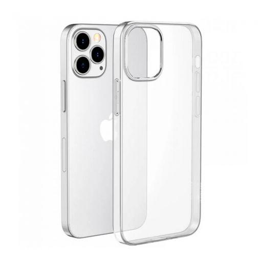 Прозрачный силиконовый чехол CasePro Clear Case для iPhone 13 Pro Max