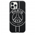 Силиконовый чехол CasePro PSG Logo Black для iPhone 12 | 12 Pro