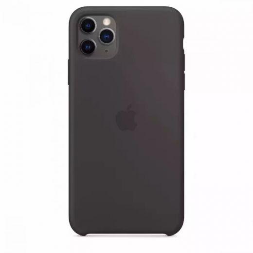 Чехол Apple Silicone Case Black (High copy) для iPhone 11 Pro Max