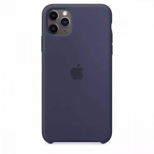 Чехол Apple Silicone Case Midnight Blue (High copy) для iPhone 11 Pro Max