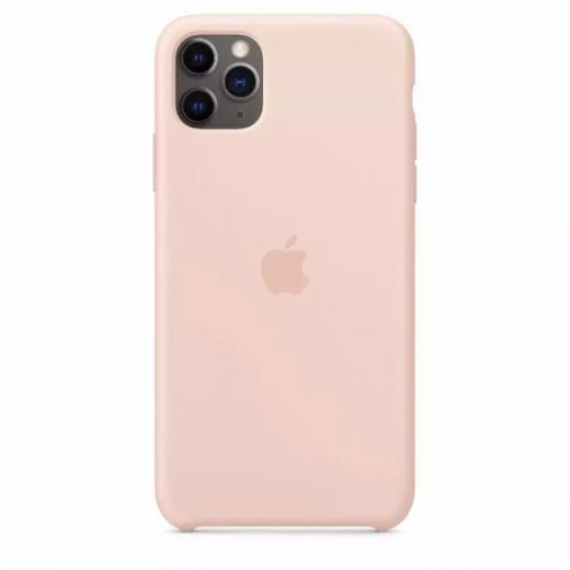 Чехол Apple Silicone Case Pink Sand (High copy) для iPhone 11 Pro Max