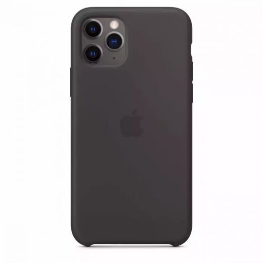 Чехол Apple Silicone Case Black (High copy) для iPhone 11 Pro