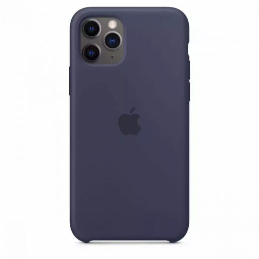 Чехол Apple Silicone Case Midnight Blue (High copy) для iPhone 11 Pro
