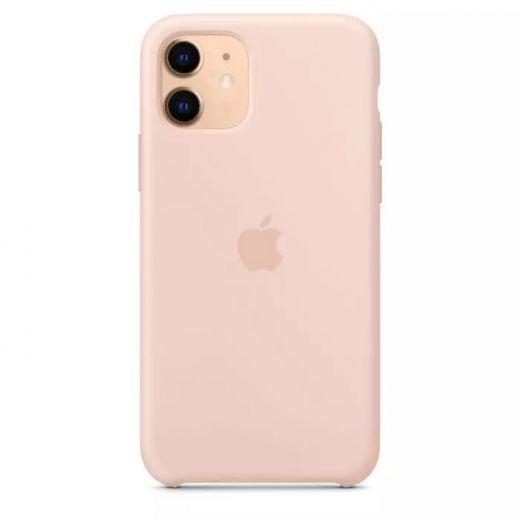 Чехол Apple Silicone Case Pink Sand (High copy) для iPhone 11