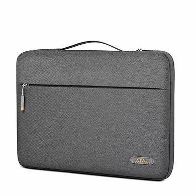 "Чехол-сумка WIWU Pilot Sleeve Gray для MacBook 13"""