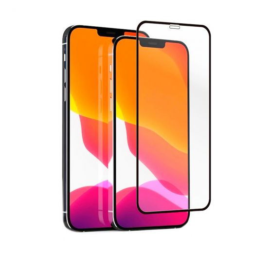 Защитное стекло CasePro Full Cover Glass 2.5D для iPhone 12 Pro Max