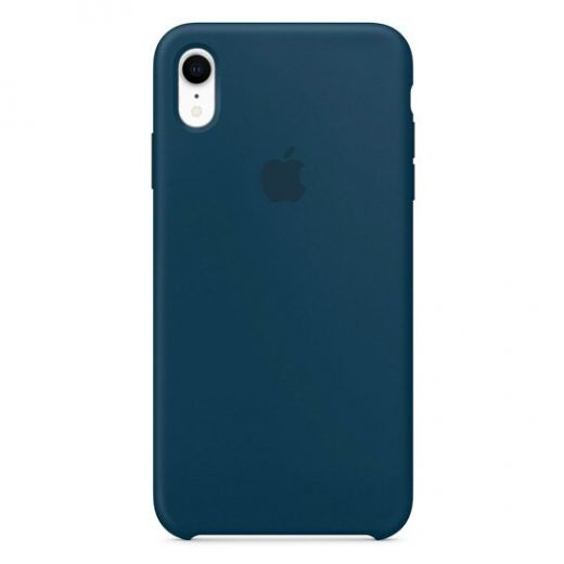 Чехол Apple Silicone Case Pacific Green (High copy) для iPhone XR