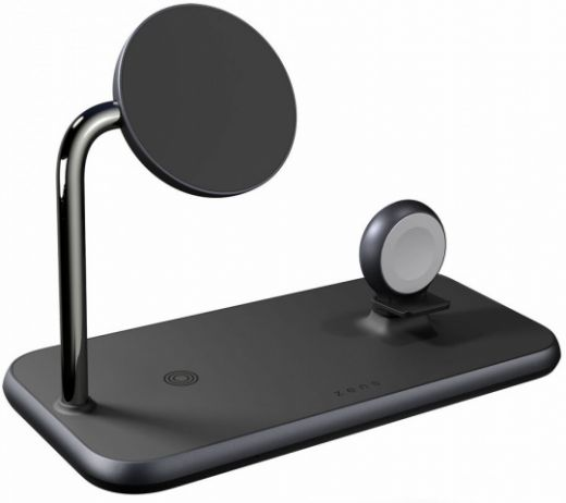 Беспроводная зарядка Zens Magnetic + Watch Wireless Charger (ZEDC18B/00)
