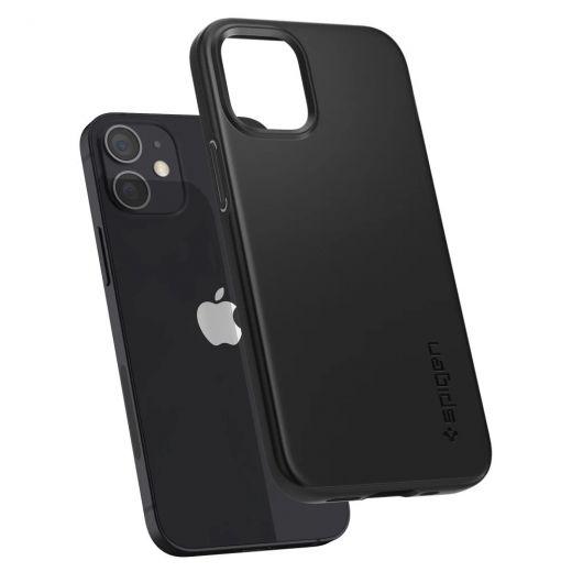 Чехол Spigen Thin Fit Black (ACS01739) для iPhone 12 mini