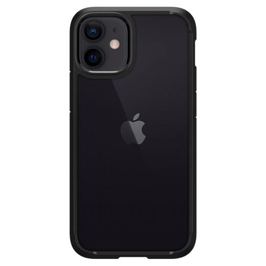 Чехол Spigen Ultra Hybrid Matte Black (ACS01746) для iPhone 12 mini