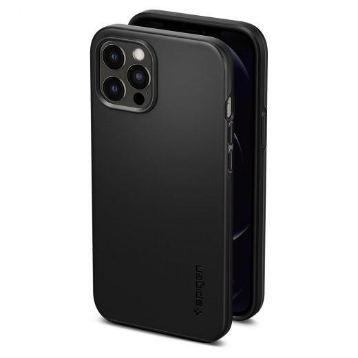 Чехол Spigen Thin Fit Black (ACS01612) для iPhone 12 Pro Max