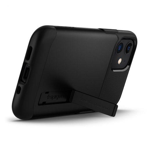 Чехол Spigen Slim Armor Black (ACS01545) для iPhone 12 mini