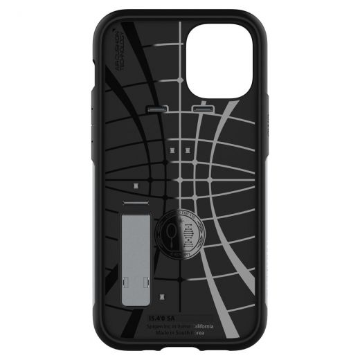 Чехол Spigen Slim Armor Satin Silver (ACS01548) для iPhone 12 mini